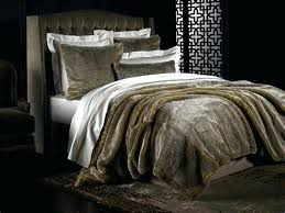 faux fur bedding set image of king size comforter