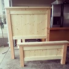 farmhouse twin bed. Delighful Farmhouse Our Latest Project Has Been Building A Twin Bed For Our Son Russell It Is  Simple Design The Headboard And The Footboard Panels Adds Some Character  And Farmhouse Twin Bed U