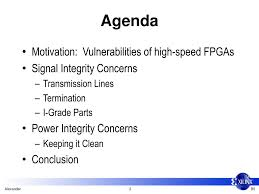 Signal Integrity In Pcb Design Ppt Ppt B5 Designing For Signal And Power Integrity In Fpga