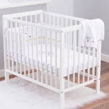 silver cloud 4pc space saving cot bedding set counting sheep