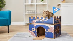chewy box cat castle