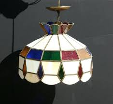 antique stained glass chandeliers for beautiful original