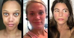 22 makeup free selfies from celebs who are obviously better than us someecards celebrities