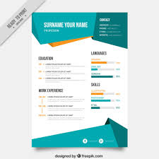 top resume templates pik blog abstract curriculum template