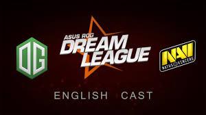 dota 2 dreamleague s5 navi vs og game 2 english cast youtube
