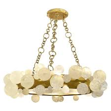 bubble rock crystal chandelier by