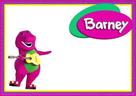 Free Party Invites Templates Barney Party Invitation Template The Dinosaur Coolest