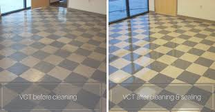 vct cleaning and sealing