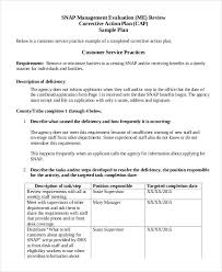Student Action Plan Template Experience Portray Corrective Job