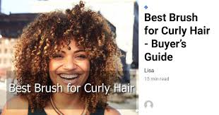 Best Brush For Curly Hair [TOP 5 For 2020] Afro / Kids / Oversized