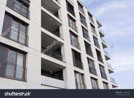 Modern Apartment Building Facade - Modern apartment building facade