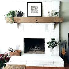 paint fireplace brick paint fireplace whitewash