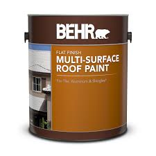 behr multi surface roof paint