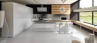 Charming Salles De Bain Schmidt 9 Cuisine Moderne Blanche Et Bois