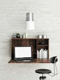 Wall-Mounted Desks and Other Space Savers via Brit + Co