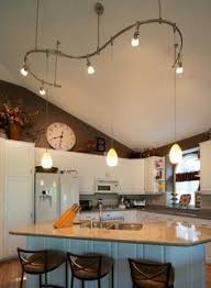 Lighting For Vaulted Ceiling Kitchen Lighting Vaulted Ceiling Creative Pendants And Track For G