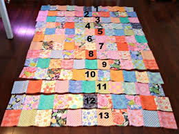 Super Easy Quilt to Make! & numbered strips to sew together Adamdwight.com