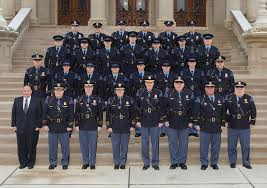 mc officers on capitol steps 20th motor carrier officer recruit