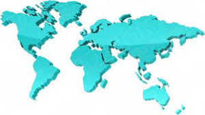 Map Of The World For Powerpoint Download High Quality Royalty Free Map World Teal Powerpoint