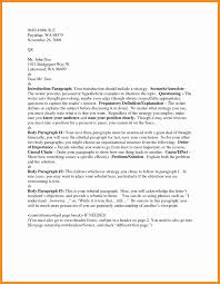 Format Business Letter Heading Inspirationa Header Resume Writing