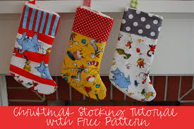 Christmas Stocking Sewing Pattern Cool 48 DIY Winter Holiday Sewing Projects WeAllSew