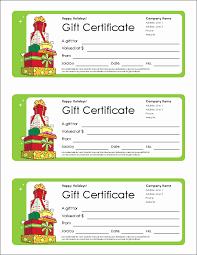 50 Gift Certificate Templates Free Culturatti