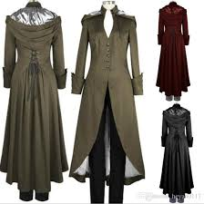 best women s victorian double cape coat gothic black steampunk victorian trench coat with hood plus sizes s xl under 25 5 dhgate com