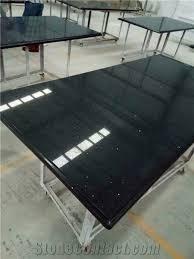 crystal black quartz countertop sparkle black quartz kitchen tops