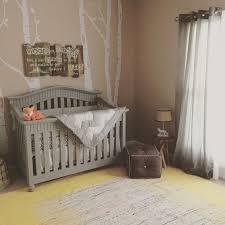 grey furniture nursery. annie sloan chalk paint crib in paris grey with clear wax finish furniture nursery