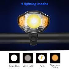 2019 Waterproof <b>Bicycle Light Computer</b> Cycle <b>Speedometer</b> Lights ...