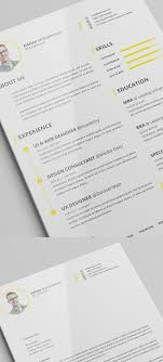 Free Resume Templates Cool Cv Template Vita Sample Curriculum