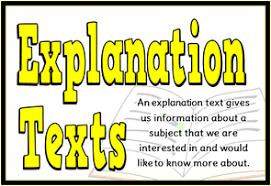Contoh text explanation dan soalnya. Contoh Explanation Text Pengertian Tujuan Dan Struktur