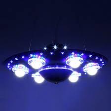 Us 2450 Bunte Fernbedienung Ufo Raumschiff Kronleuchter Kinderzimmer Anhänger Lampe Schlafzimmer Lichter Kreative Cartoon Kinder Zimmer