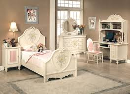 image of beautiful girls white bedroom design