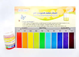 Water Test Color Chart Amazon Com Ph Test Kit Drops Testing Of Hydroponics