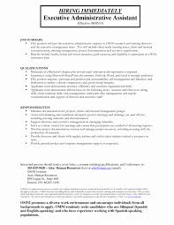 Sample Resume For Administrative Assistant Sample Resume For Administrative Position Inspirational 23