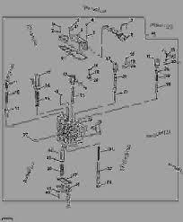 transmission control valve group syncshuttle loader john deere list of spare parts