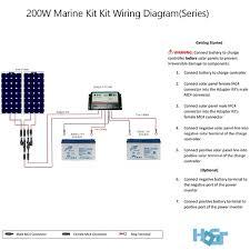 boat solar panel wiring diagram regarding 200 watt 12 volt Solar Electric Installation Wiring Diagram at Boat Solar Panel Wiring Diagram