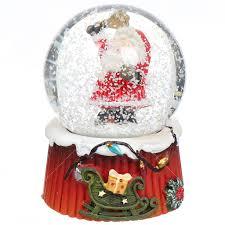 <b>Фигурка декоративная</b> Шар водяной со снегом Дед Мороз 19672 ...