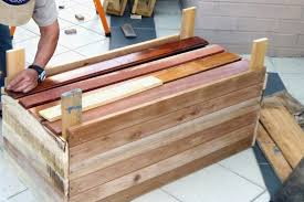 building wooden planter boxes diy upcycled wood box on whe make drop gorgeous your own designs