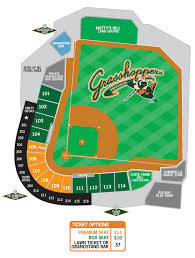 Kannapolis Intimidators Seating Chart Kannapolis Intimidators V Greensboro Grasshoppers Tall
