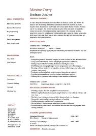 Business Analyst Resume Sample Delectable Test Analyst Cv Sample Engneeuforicco