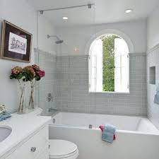 bath and shower combination how you can make the tub shower combo work for your bathroom
