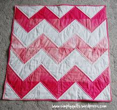 Ombre Chevron Quilt | Simply Quilts & chevron 1 Adamdwight.com