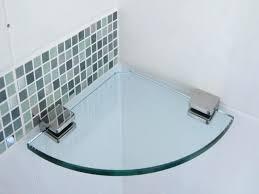 Glass Corner Shelves Uk Awesome Smart Glass Corner Shelves Bathroom Corner Glass Shelf Corner Glass
