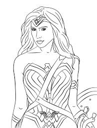 This coloring pages for kids : Wonder Woman 1984 Coloring Pages Superhero Coloring Pages Superhero Coloring Wonder Woman Drawing