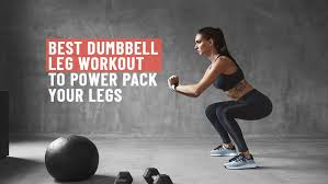 dumbbell leg workout increase strenght