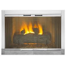 best tanooga fireplace glass doors a southern hearth u patio