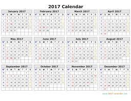 Printable 2017 Calendar Printable 24 Calendar 2