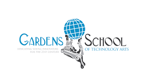logo design by designguru for gardens school of technology arts design 7512385